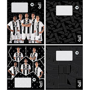 Набор школьные тетради 4 шт Juventus 18 листов  в линию