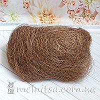 Сизаль, коричневый, 40 гр