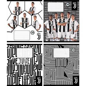 Школьные тетради набор 4 шт Juventus 18 листов  клетка