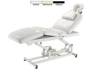 Масажний стіл -кушетка на электроуправлении 3693А (3 мотора) білий