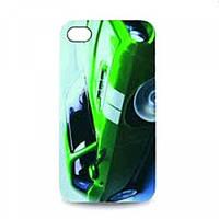 """Чехол для iPhone """"Зеленый автомобиль"""" 4G"""