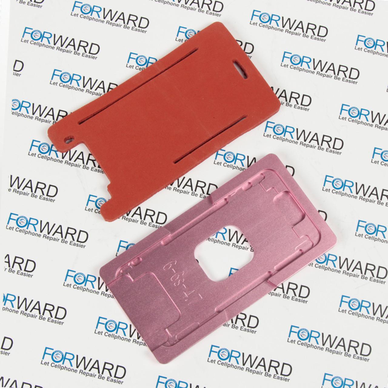 Формы для фиксации дисплея IPhone 6, 6S алюминиевая и резиновая