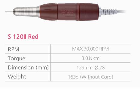 ручка к фрезеру strong S 120II Red SAESHIN