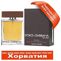 Dolce gabbana The One men Хорватия Люкс копия АА++ Дольче Габбана Ван фо Мен