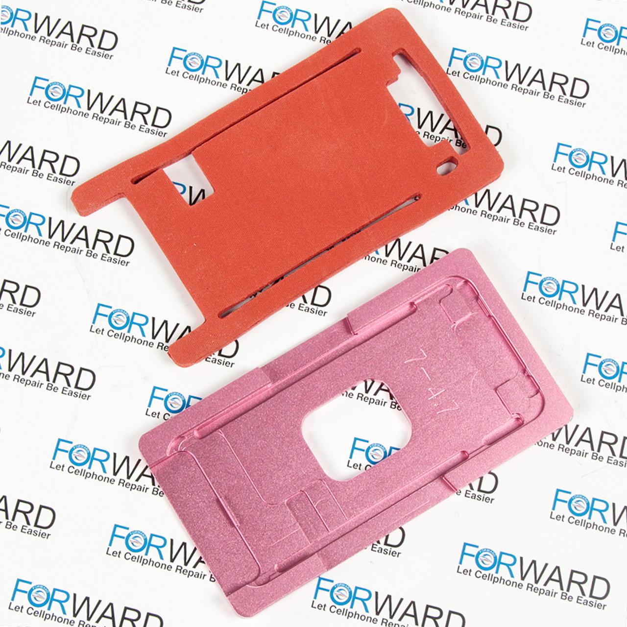 Формы для фиксации дисплея IPhone 7 алюминиевая и резиновая