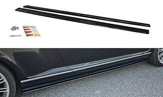 Диффузоры порогов юбка элерон накладки тюнинг Bentley Continental GT