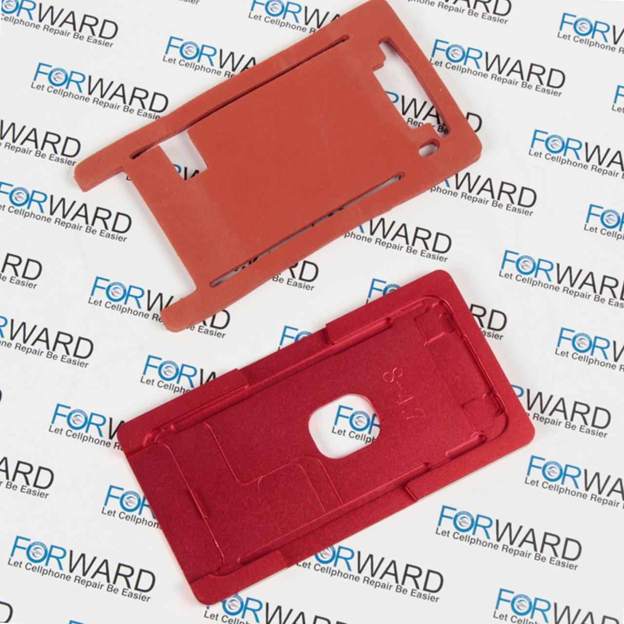Формы для фиксации дисплея IPhone 8 алюминиевая и резиновая