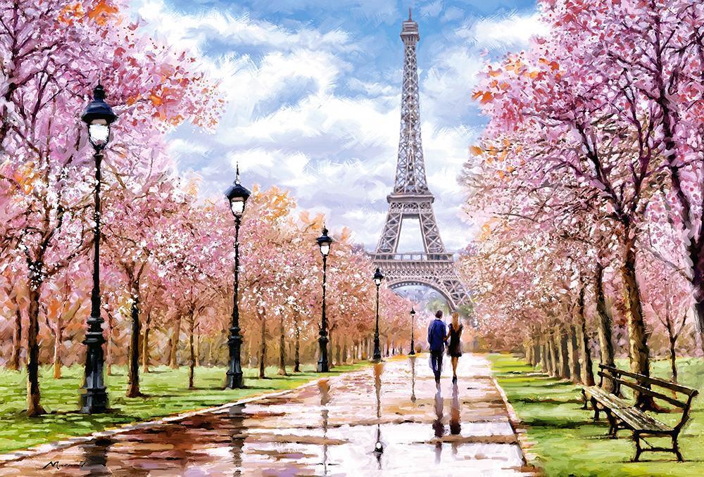Пазлы Романтическая прогулка в Париже, 1000 эл.