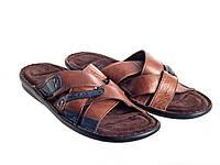Шлепанцы Etor 695-13248 коричневые, фото 1