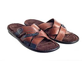 Шлепанцы Etor 695-13248 коричневые