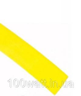 Трубка термоусадочная 6/3 мм желтая GAV 12.Y