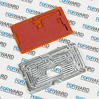Формы для фиксации дисплея IPhone X алюминиевая и резиновая