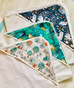 Полотенце-уголок для грудничков