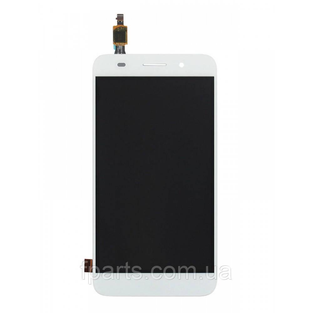 Дисплей для Huawei Y3 2017 (CRO-U00) с тачскрином, White