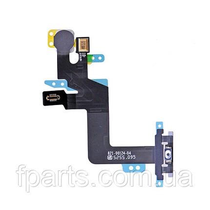 Шлейф iPhone 6S Plus кнопка включения, вспышка, микрофон Original PRC, фото 2