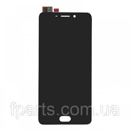 Дисплей для Meizu M6 Note (M721) с тачскрином, Black (AAA), фото 2