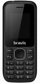 Мобильный телефон Bravis C183 Rife Black Гарантия 12 месяцев
