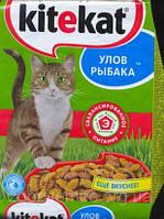 Корм Китикет KITEKAT для кошек рыбное ассорти, 13 кг