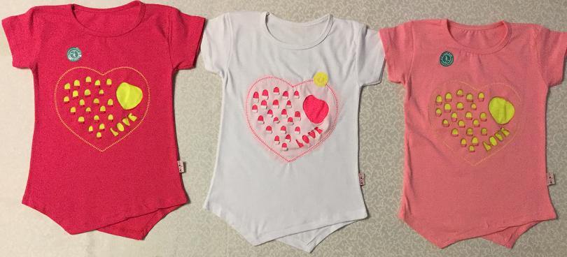 Туника Сердце 5-8 лет