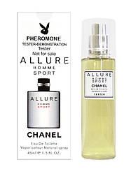 Тестер мужской 45 мл.Chanel Allure homme Sport