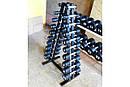 Гантельный ряд 1-10 кг МК-0110 (10 пар, шаг 1 кг), фото 2