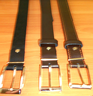 Ремни кожа брючные, 35 мм ширина, длина : 140 см и др