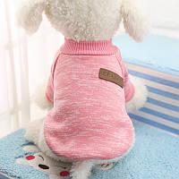 Свитер утепленный Ristar  для маленьких собак размер L 30 розовый