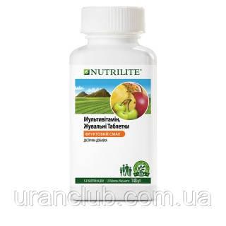 Мультивитамин, жевательные таблетки 120таблеток NUTRILITE