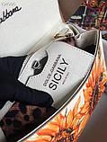 Сумка Дольче Габбана Miss Sicily 25 см натуральная кожа, фото 6