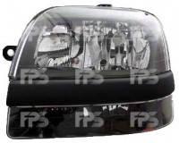 Фара передняя для Fiat Doblo '01-04 левая (DEPO) под электрокорректор