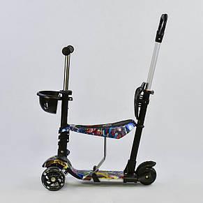 Самокат Best scooter 5 в 1 с  подножками, фото 2