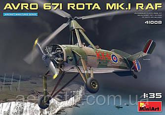 Avro 671 ROTA MK.I Королевских ВВС  1/35 Miniart 41008