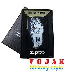 """Зажигалка Zippo""""Волк"""""""