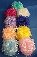 """Бант школьный """"Карла"""" маленький. Разные цвета в упаковке. Оптом"""