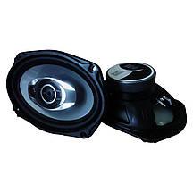 Коаксиальная автомобильная акустика в машину 13 см колонки динамики для авто 163х237мм овалы