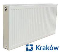 Стальной радиатор Krakow 22 тип 300x1000 (боковое подключение) Польша