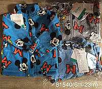 Пайта флисовая для мальчиков оптом, Disney, 6-23 мес., Aрт. 81540