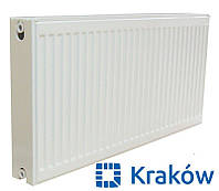 Стальной радиатор Krakow 22 тип 300x600 (боковое подключение) Польша