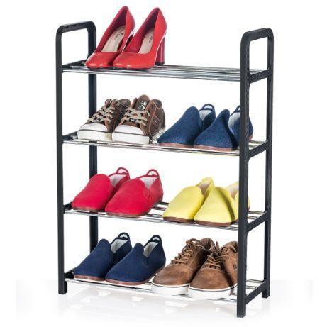 Полкадля обуви черная Art68 x 50 x 20 см