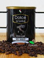 Кофе молотый Dolce Aroma 100% Arabica, 250 г (ж/б банка)