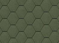 Битумная черепица Kerabit Тройка зеленый