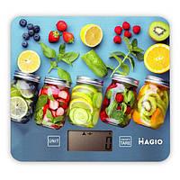 Яркие весы для кухни MAGIO MG-796 5 кг точные качественные прочное стекло