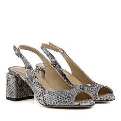 Босоножки женские GUERO (оригинальные, стильные, качественные, на каблуке)