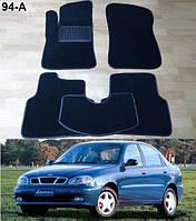 Коврики на Daewoo Lanos / Sens '98-. Текстильные автоковрики.