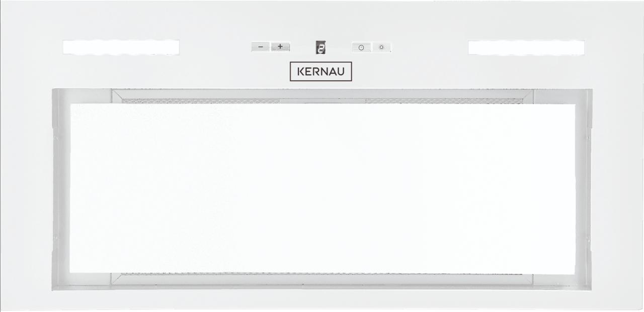 Встраиваемая вытяжка белого цвета Kernau KBH 0861 W