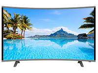 "LCD LED Телевизор Comer 32"" Изогнутый Smart TV - WIFI - Android"