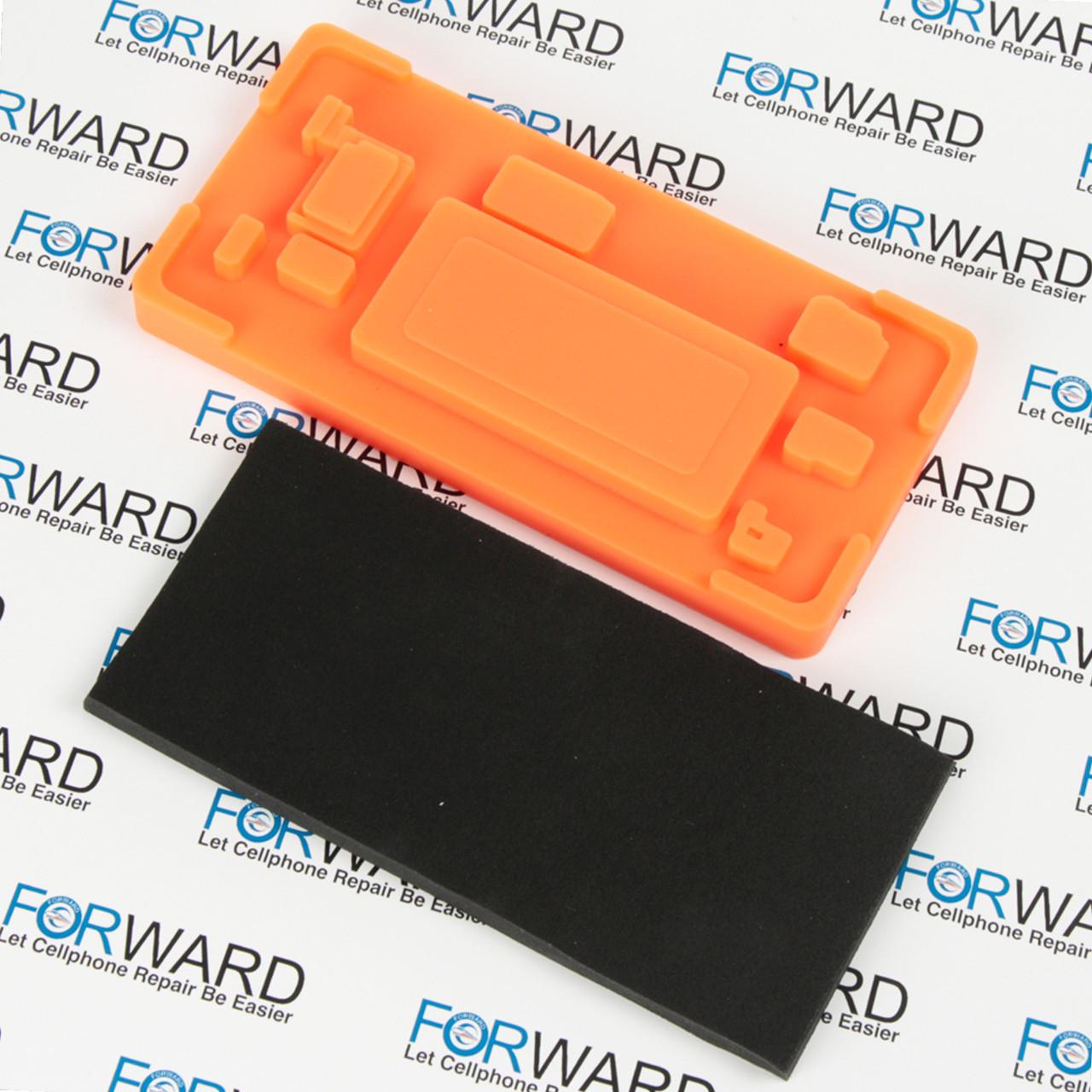 Формы для фиксации дисплея Samsung Galaxy S8, G950F (Edge) силикон и пористая резина