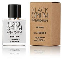 Туалетная вода женская Yves Saint Laurent Black Opium 50 ml, Orign Tester, эко упаковка