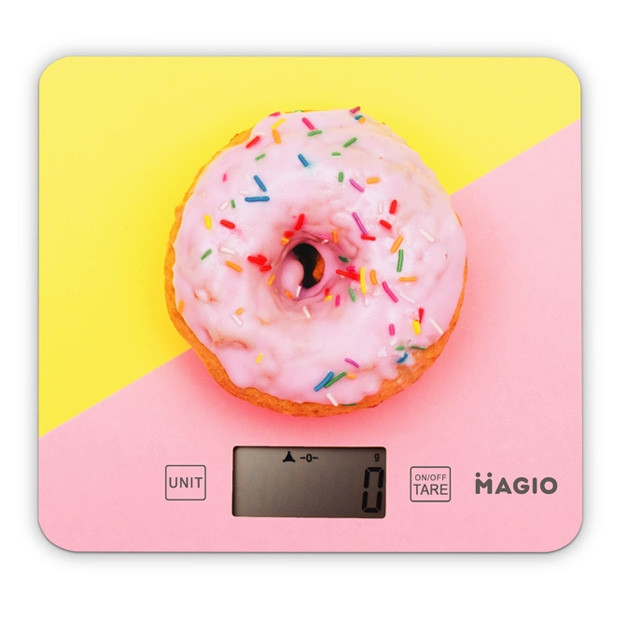 Електронні ваги для кухні MAGIO MG-797 яскравий дизайн точні якісні
