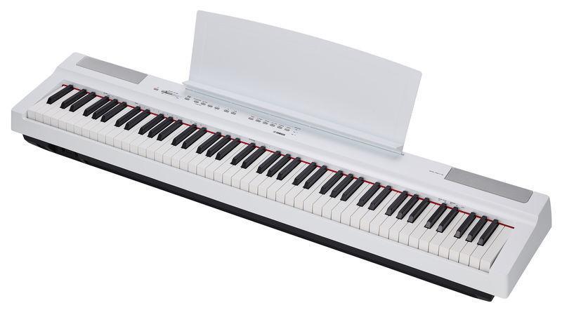 Сценическое пианино Yamaha P-125 White (P125WH)